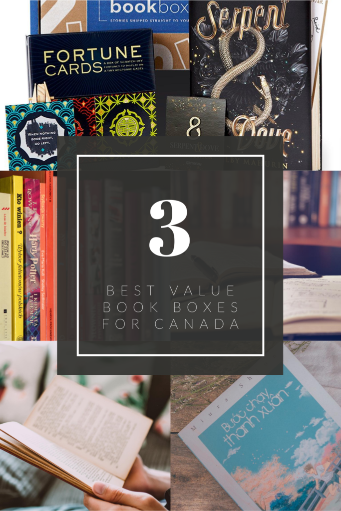 3 Best Value Book Boxes for Canada