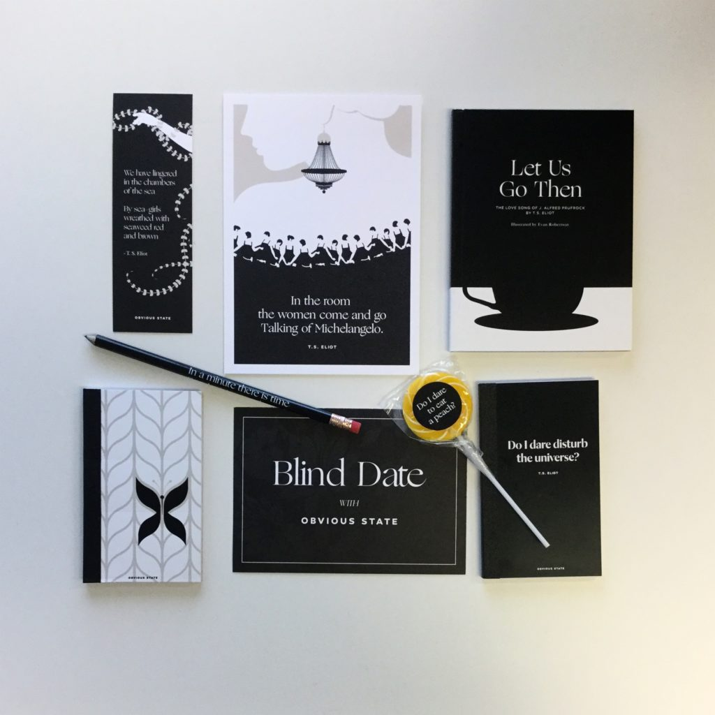 Blind Date with Obvious State Book Subscription Box