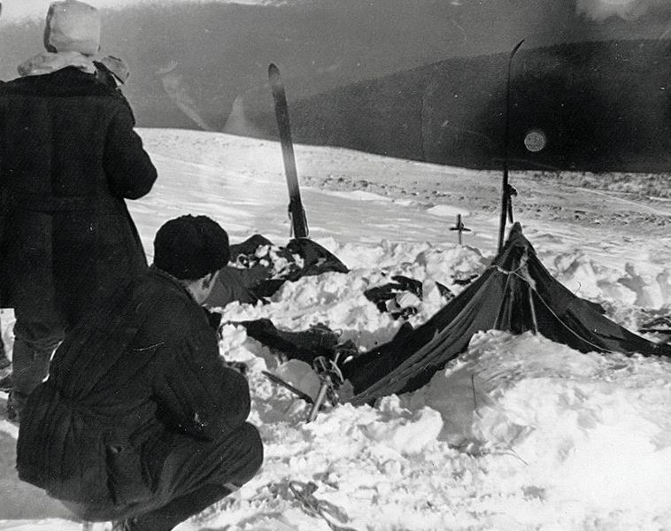 Tents found in the aftermath of the Dyatlov Pass Incident