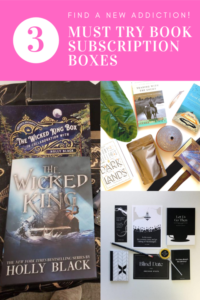 3 Must Try Book Subscription Boxes