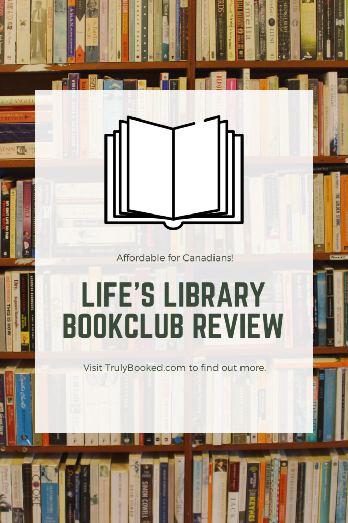 Life's Library Bookclub Review